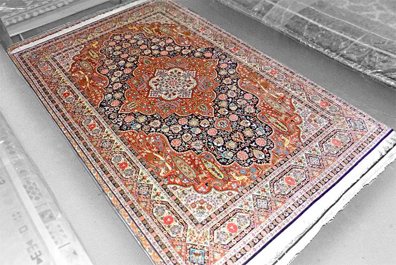 La alfombra de la semana 29 for Alfombras persas historia